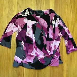 Alfani Paint Block blouse XL NWT